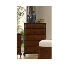 Simmons 1001-70 Raleigh 5 Drawer Chest | Hope Home Furnishings and Flooring