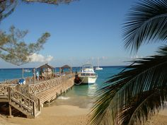 The dive boat at Sandals Dunns River Falls, Jamaica.  Great daily dives!