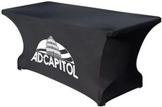 Draw people to your table with this Spandex 6 ft Table Cover. Great for vendors to use at trade shows! Get yours at MichPromos.