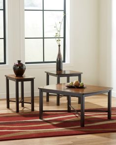 Ashley Furniture T231 13 Fletcher Coffee Table Set