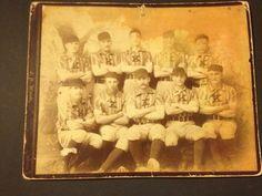 1880s 1890s Kearney Nebraska Baseball Team Cabinet Photo | eBay