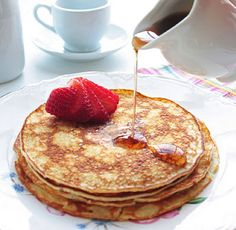 Cream Cheese Pancakes!  You had me at Cream Cheese!