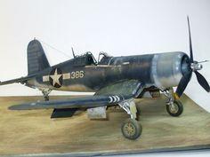 F4U-1 1/32 scale Tamiya Modeler Wilb Pascal