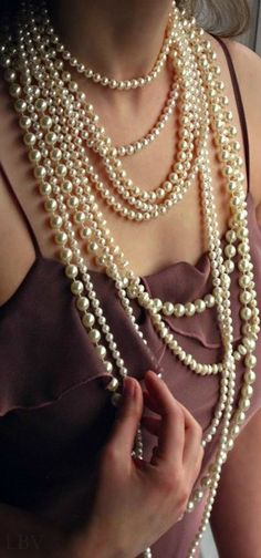 Multiple Strands #PearlDistributors | LBV ♥✤