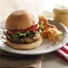 Hamburger de poulet aux poireaux CompletementPoireau