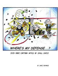 Where's My Defense? A collection of hockey goalie comics BOOK pads glove save Blackhawks Hockey, Hockey Goalie, Chicago Blackhawks, Hockey Players, Ice Hockey, Hockey Girls, Hockey Mom, Funny Hockey, Hockey Stuff