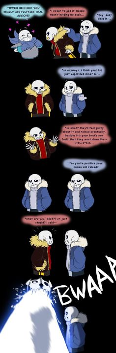 Undertale - so many Sanses by TC-96.deviantart.com on @DeviantArt