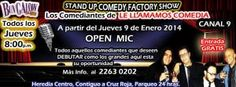 Stand Up Comedy y OPEN MIC. http://www.desktopcostarica.com/eventos/2014/stand-comedy-y-open-mic-0 #CostaRica