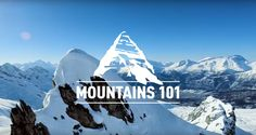 Mountains 101 - University of Alberta