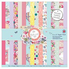 Buy Docrafts Papermania Bellissima Craft Paper, Pack of 6 Online at johnlewis.com
