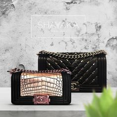 20dce56194f8 Chanel Boy Flap Bag in Crocodile Leather and Calfskin with Pink Gold  Hardware | Size Small