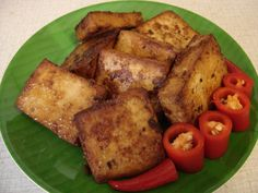 Tasty Indonesian Food - Tahu Bacem