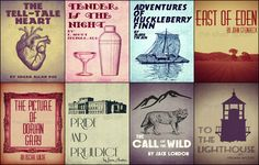 ReImagined Book Cover Series Set B  Literary by TheSilverSpider, $26.00