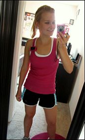 Challenging runners workout--said it will flatten your belly, slim your thighs,   and firm your butt in 2 weeks--without   a single sit-up or squat--there is a link to a beginners runners workout too