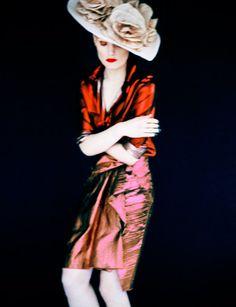 Guinevere van Seenus By Erik Madigan Heck For Muse Magazine Spring2014 - 3 Sensual Fashion Editorials | Art Exhibits - Anne of Carversville...