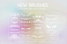 {New brushes} by Poqi.deviantart.com on @deviantART