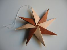 Eight Pointed Origami Star Tutorial