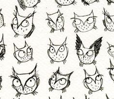 Owls, lotsa owls
