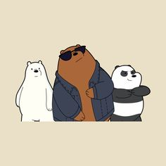 Check out this awesome 'We+Bare+Bears' design on Funny Iphone Wallpaper, Bear Wallpaper, Mood Wallpaper, Kawaii Wallpaper, Cartoon Wallpaper, 3 Bears, Cute Bears, Love Bear, Big Bear