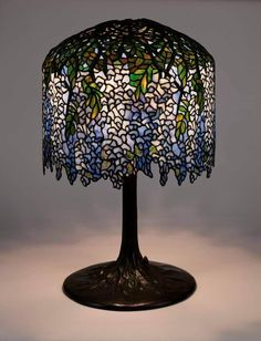 tiffany studios blue ceiling lamp - Google Search