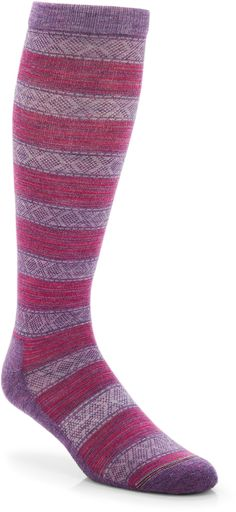 REI Muted Stripe Knee-High Socks - Socks don't have to be blah.
