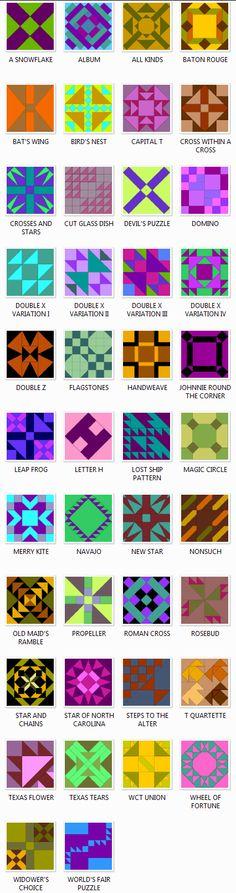 Ladies Art Company Quilt Block Patterns