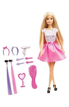 Mattel 'Barbie® Style Your Way' Doll & Hair Accessory Set