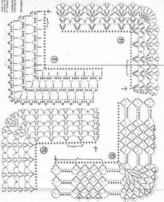 Diy Crafts - Diy Crafts - -Crochet Lace Trim Hands Ideas For 2019 crochet Crochet Edging Patterns, Crochet Lace Edging, Crochet Borders, Crochet Diagram, Crochet Chart, Crochet Designs, Crochet Doilies, Stitch Patterns, Knitting Patterns
