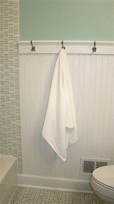 Para darle un estilo más fresco a tu baño, este color es excelente.