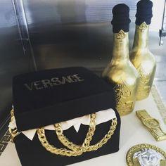 Versace birthday cake | Gala Bakery - San Lorenzo, CA | www.galabakery.com