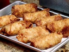 Get this all-star, easy-to-follow Food Network Neely's BBQ Pulled Pork Egg Rolls recipe from Patrick and Gina Neely.