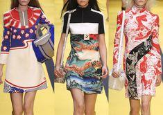 Paris Womenswear Print Highlights Part 1 – Spring/Summer 2015 catwalks