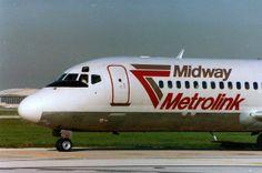 Midway Airlines Metrolink Douglas DC-9-10