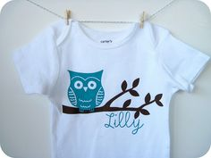Adorable! With heat transfer vinyl. I have this design and the vinyl!