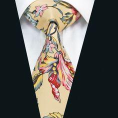 """""""Fleurs"""" Silk Tie"""
