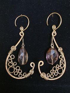 Картинки по запросу easy wire wrap earrings