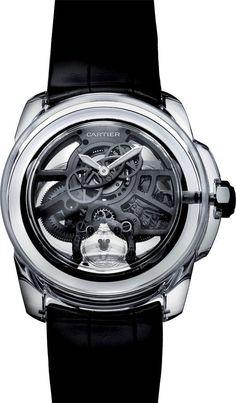 e03d5dad31f2 Montre tendance   La Cote des Montres   Cartier ID Two Concept Watch Le  temps réinvent