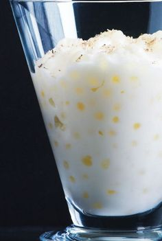 Your grandmother's tapioca pudding recipe just  got a makeover.