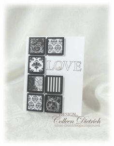 love inchies handmade card