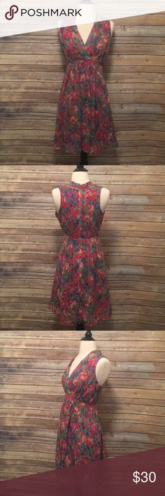 """Andrew Marc Floral Dress Marc New York - Andrew Marc Floral Dress. In excellent condition.  Length 36"""" Andrew Marc Dresses"""