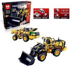 108.00$  Buy here  - IN STOCK LEPIN 20006 1636pcs Genuine technic series Volvo L350F wheel loader Model Building blocks Bricks Compatible with 42030