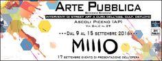 Lo street-artist Millo ad Ascoli Piceno per Arte Pubblica dal 9 al 15 settembre