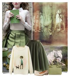 """""""Innocence"""" by akflow ❤ liked on Polyvore featuring Chicwish, Burberry, Calvin Klein, women's clothing, women's fashion, women, female, woman, misses and juniors"""