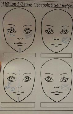 Page 3 of spokane highland games Facepainting examples