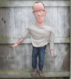 Portrait CUSTOM PUPPET - Puppets in a bag www.puppetsinabag.co.uk