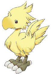 Week 9 - Final Fantasy IX - Concept Art Mon - Chocobo