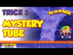 5 mystery tube Magic tricks for kids tn 5 mystery tube Goocheltrucs voor kinderen . Magic Tricks Explained, Learn Magic Tricks, How To Do Magic, Magic Tricks For Kids, How To Make, Easy Magic, Easy Card Tricks, Magic Tricks Illusions, Types Of Magic