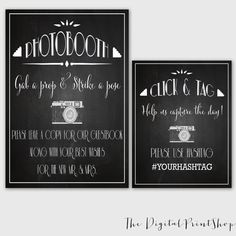 Hey, I found this really awesome Etsy listing at https://www.etsy.com/listing/193748833/photo-booth-sign-hashtag-sign-gatsby