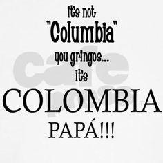 colombia, no columbia