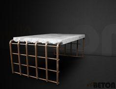 Couchtische - Betontisch, Betonmöbel, Tisch aus Beton, Couchtisc - ein Designerstück von meinBETON bei DaWanda